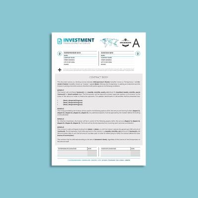 Tessera Investment Contract A4 Template