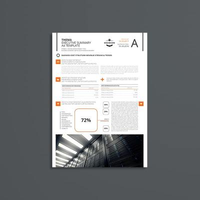 Thema Executive Summary A4 Template
