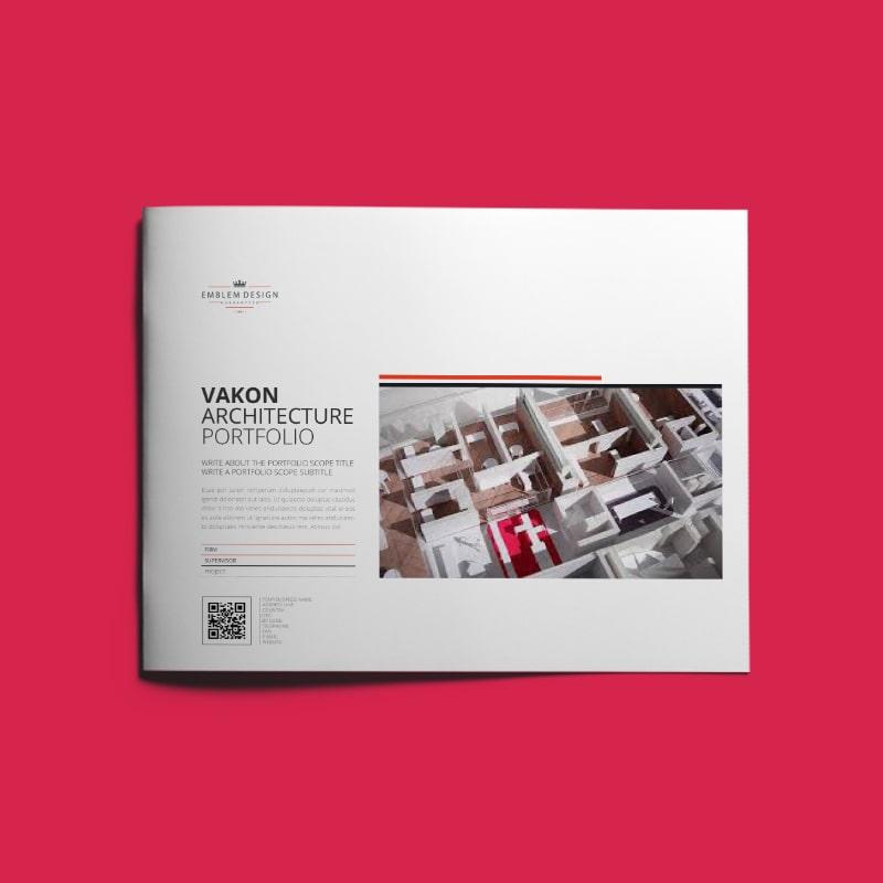 Vakon Architecture Portfolio US Letter Landscape