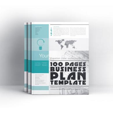 100 Pages Business Plan Template Letter – kfea 4-min