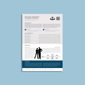 Branding Worksheet A4 Format Template