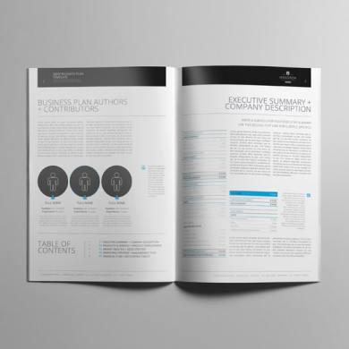 Brief Business Plan Template – kfea 3-min