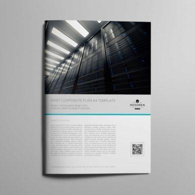 Brief Corporate Plan A4 Template – kfea 1-min