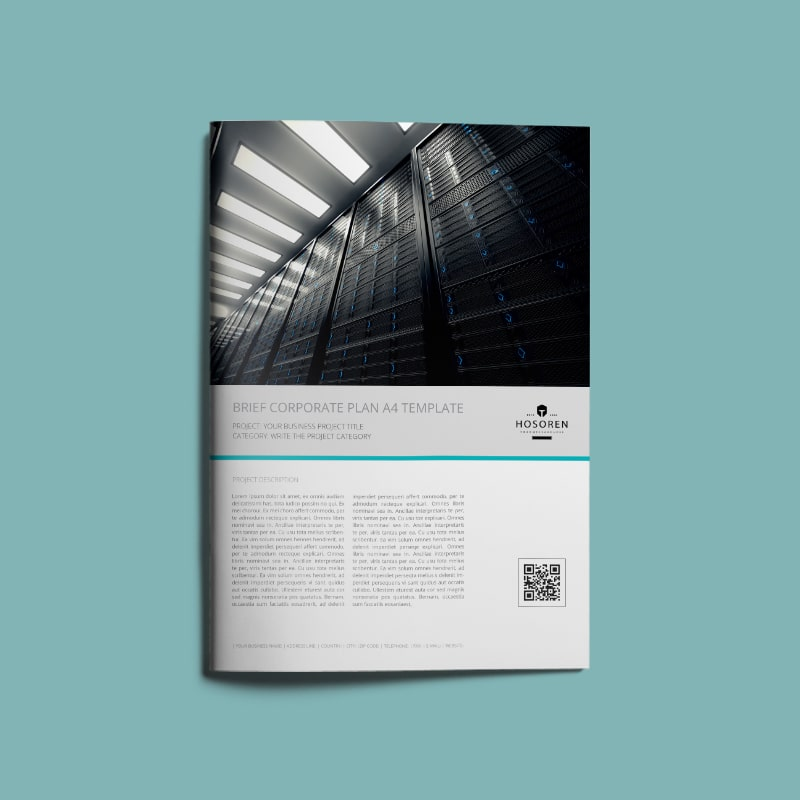 Brief Corporate Plan A4 Template