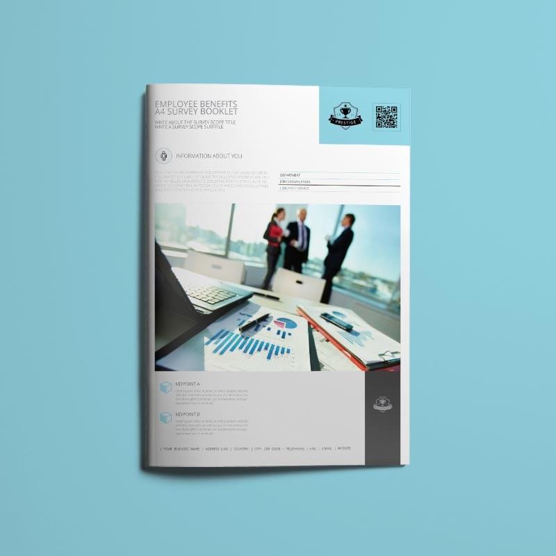 Employee Benefits A4 Survey Booklet