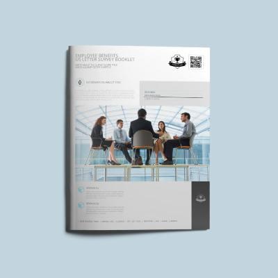 Employee Benefits US Letter Survey Booklet