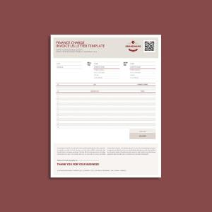 Finance Charge US Letter Template