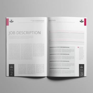 Job Cost Estimation A4 Booklet Template – kfea 3-min