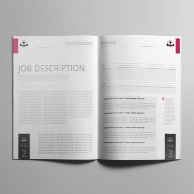 Job Cost Estimation A4 Booklet Template – kfea 3-min