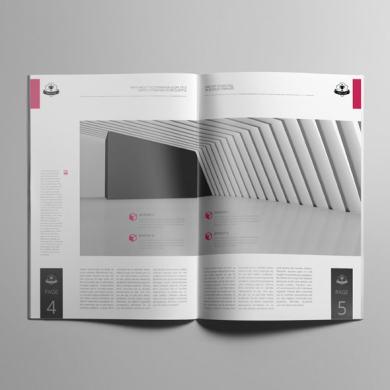 Job Cost Estimation A4 Booklet Template – kfea 4-min