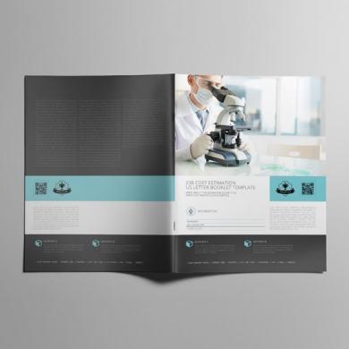 Job Cost Estimation US Letter Booklet Template – kfea 2-min