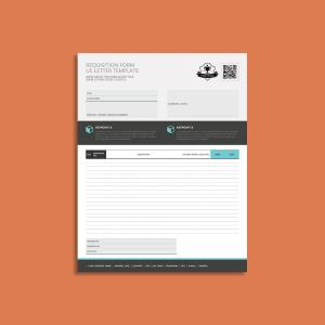 Requisition Form US Letter Template