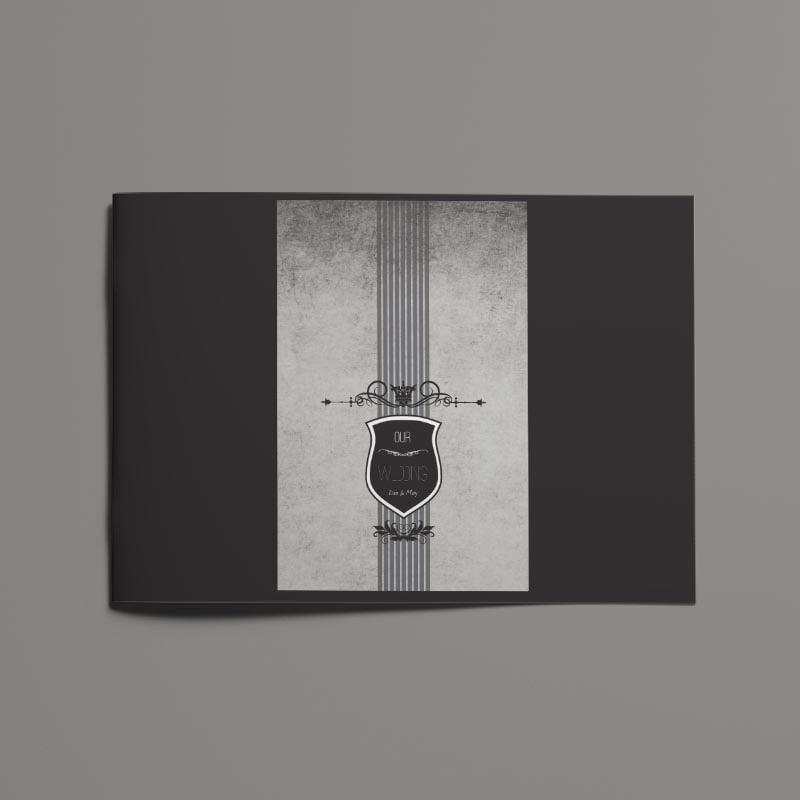 Royal Wedding Photobook Template