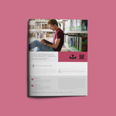 Survey of Priorities US Letter Booklet Template