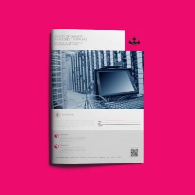 Survey of Quality A4 Booklet Template