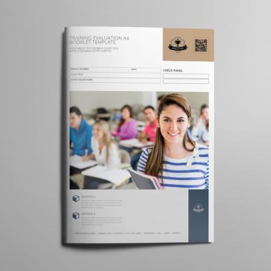 Training Evaluation A4 Booklet Template – kfea 3-min