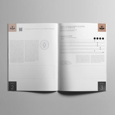 Training Evaluation US Letter Booklet Template – kfea 1-min