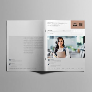 Training Evaluation US Letter Booklet Template – kfea 3-min