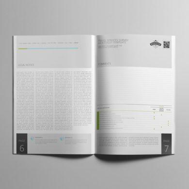 Travel Services Survey A4 Booklet Template – kfea 1-min