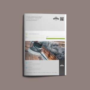 Travel Services Survey A4 Booklet Template