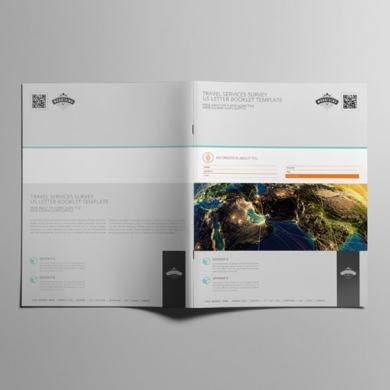 Travel Services Survey US Letter Booklet Template – kfea 2-min