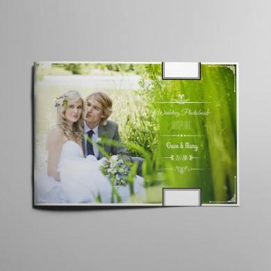 Vintage Wedding Photobook Template – kfea 1-min