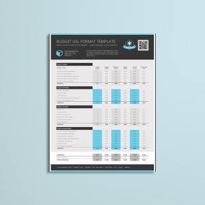 Budget USL Format Template