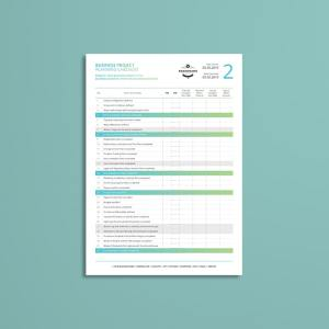 Business Project Planning Checklist