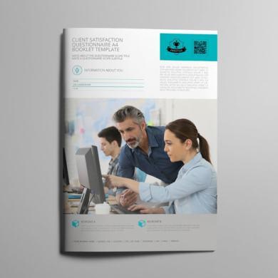 Client Satisfaction Questionnaire A4 Booklet Template – kfea 1-min