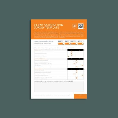 Client Satisfaction Survey Template