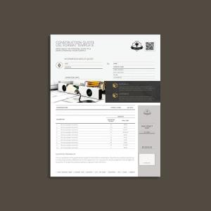 Construction Quote USL Format Template
