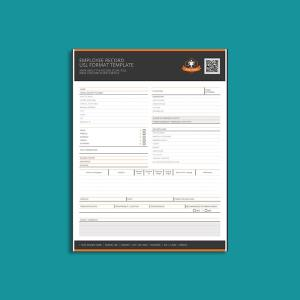 Employee Record USL Format Template