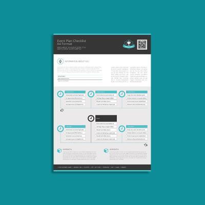 Event Plan Checklist A4 Format