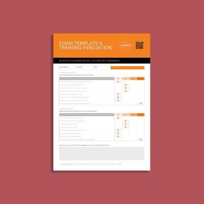 Form Template 4 Training Evaluation