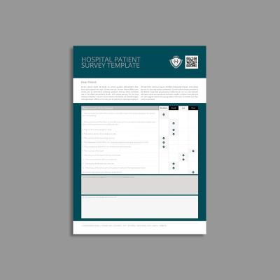 Hospital Patient Survey Template