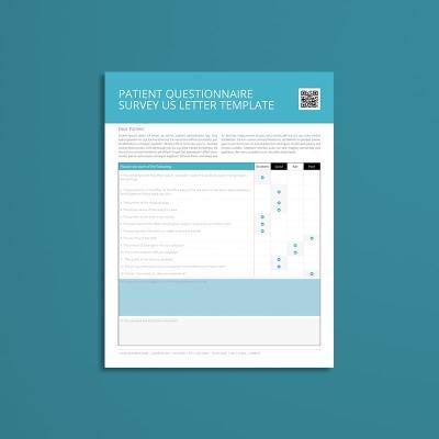 Patient Questionnaire Survey US Letter Template