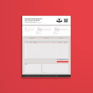 Purchase Order Business USL Format Template