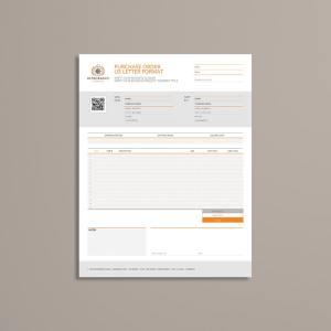 Purchase Order US Letter Format