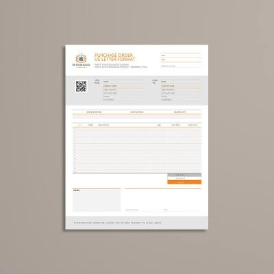 Purchase Order US Letter Format