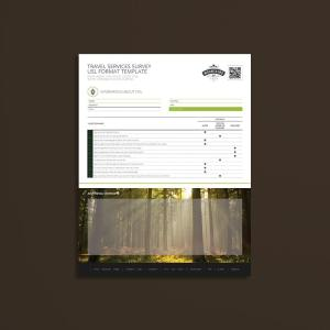 Travel Services Survey USL Format Template