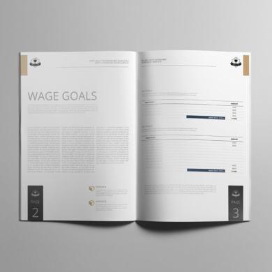 Billable Rates Worksheet A4 Booklet – kfea 3-min