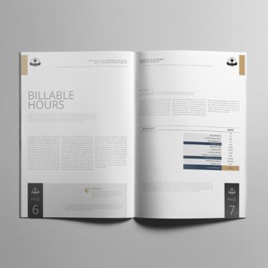 Billable Rates Worksheet A4 Booklet – kfea 4-min