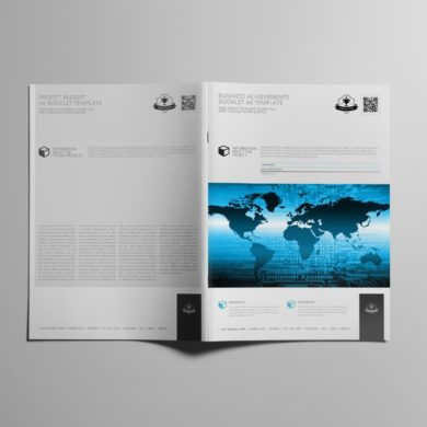 Business Achievements Booklet A4 Template – kfea 2-min