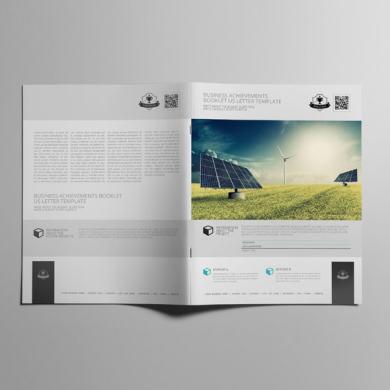Business Achievements Booklet US Letter Template – kfea 2-min