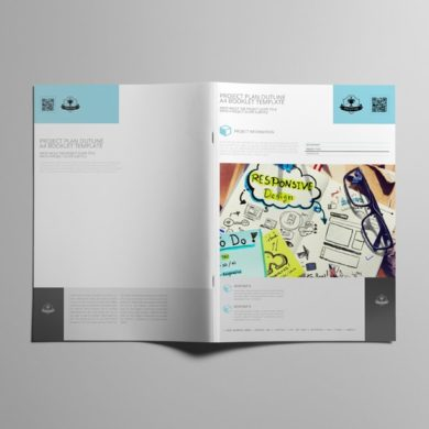 Project Plan Outline A4 Booklet Template – kfea 2-min