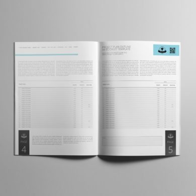 Project Plan Outline US Letter Booklet Template – kfea 1-min