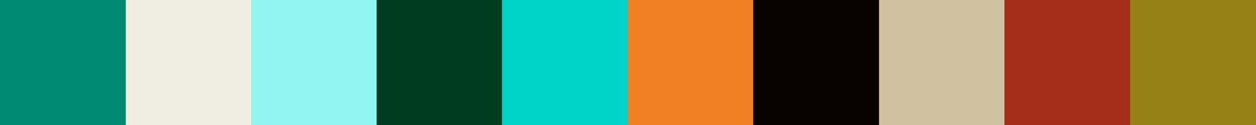 10 Kimolia Color Palette