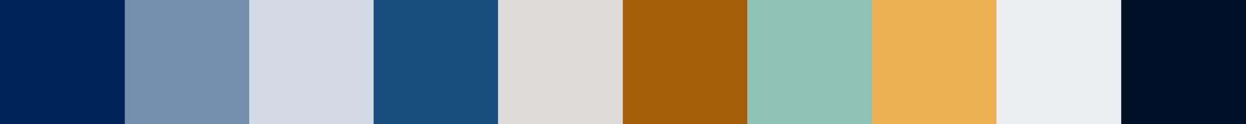 100 Wozelia Color Palette