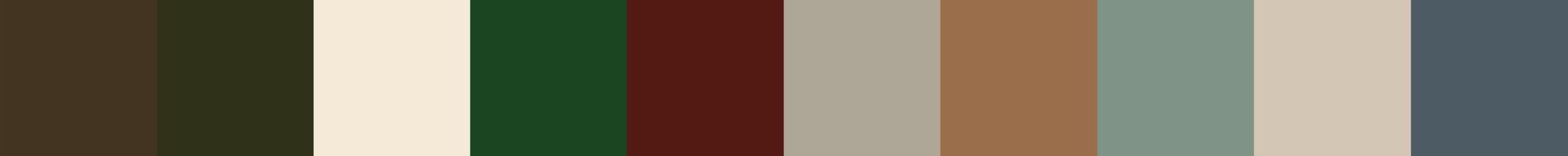 115 Athena Color Palette
