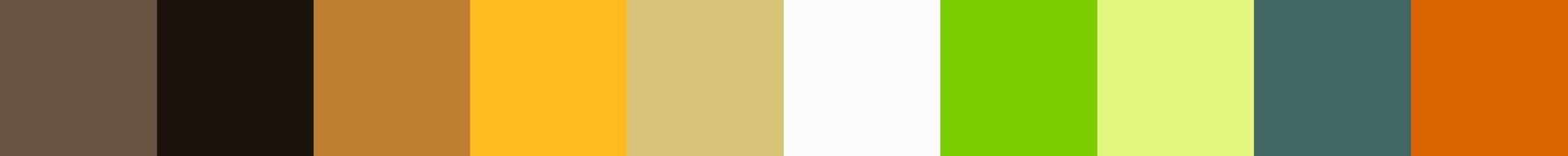129 Mulonea Color Palette